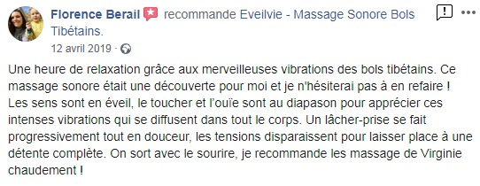 Eveilvie massage sonore