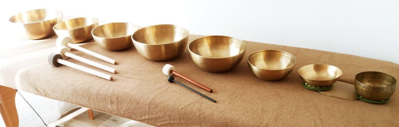 Massage sonore et vibratoire